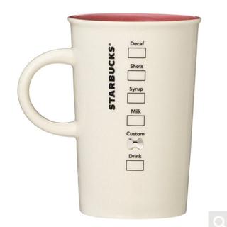Starbucks Coffee - 11/22新商品 スターバックス クリスタルリボンが付いたマグカップ