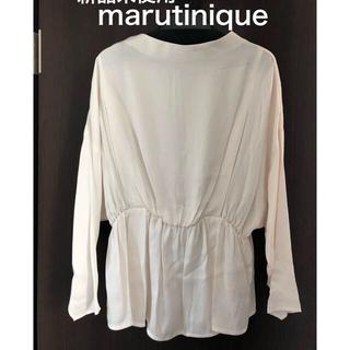 マルティニークルコント(martinique Le Conte)のマルティニーク ブラウス、カーディガン(シャツ/ブラウス(長袖/七分))