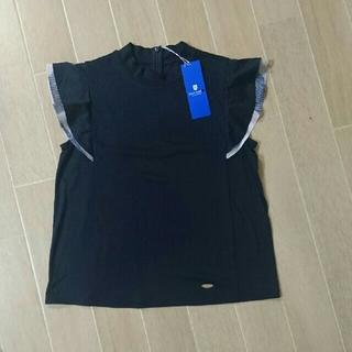 バーバリーブルーレーベル(BURBERRY BLUE LABEL)の新品 BLUE LABEL クレストブリッジ 36(カットソー(半袖/袖なし))