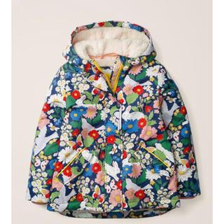 ボーデン(Boden)の【完売品   新作新品】ミニボーデン  アノラック  防寒ジャンパー うさぎ花柄(ジャケット/上着)