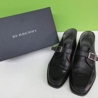 バーバリーブラックレーベル(BURBERRY BLACK LABEL)のバーバリーブラックレーベル 革靴 ビジネスシューズ ブーツ(ドレス/ビジネス)