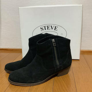 スティーブマデン(Steve Madden)のスエードショートブーツ steve madden サイズ7(ブーツ)