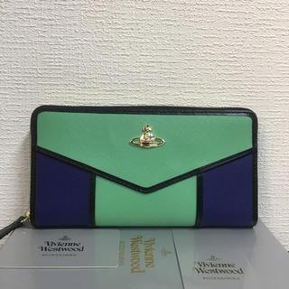 ヴィヴィアンウエストウッド(Vivienne Westwood)の【未使用】Vivienne Westwood 大人気 おしゃれ長財布マルチカラー(財布)