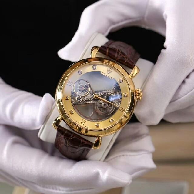 トレンディな新しいメンズ機械式時計の通販