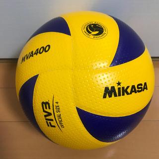 ミカサ(MIKASA)の美品 ミカサ バレーボール 4号球 検定球 MVA400 中学生 ママさん向き(バレーボール)