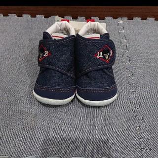 ダブルビー(DOUBLE.B)のミキハウス ダブルB 子供靴 新品未使用(スニーカー)