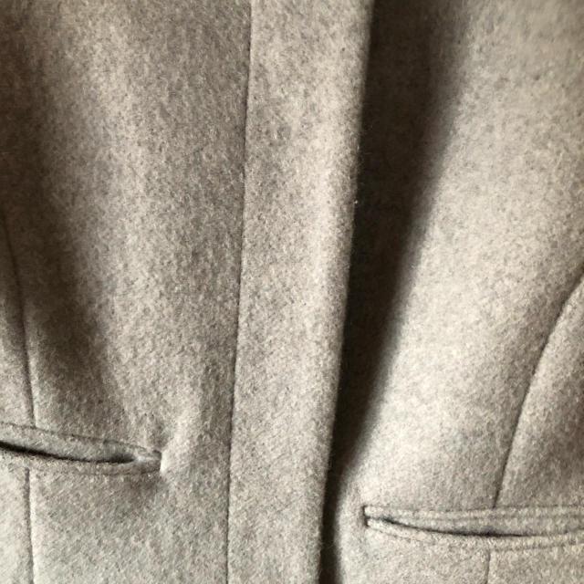 MISCH MASCH(ミッシュマッシュ)のミッシュマッシュ グレーショートコート 美品 レディースのジャケット/アウター(その他)の商品写真