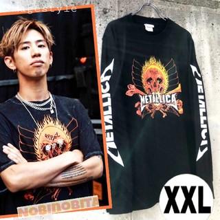 ONE OK ROCK - XXL◆送料無料 長袖T METALLICA  REBEL ロックTシャツ