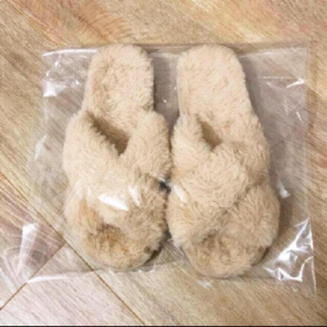 w closet(ダブルクローゼット)の【新品】wcloset☁︎ファーサンダル☁︎ レディースの靴/シューズ(サンダル)の商品写真