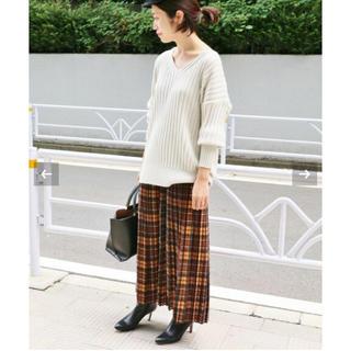 IENA - IENA♡チェックプリーツスカート