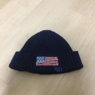 ラルフローレン(Ralph Lauren)のPolo Ralph Lauren 星条旗 ニット帽(ニット帽/ビーニー)