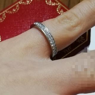 カルティエ(Cartier)のカルティエ フルエタニティリング プラチナ(リング(指輪))