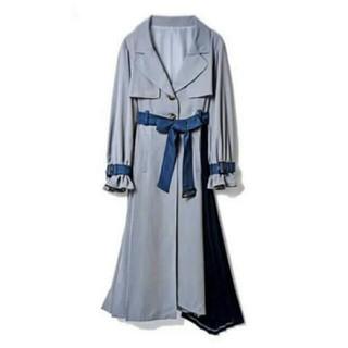 REDYAZEL - レディアゼル♡バイカラー トレンチ コート