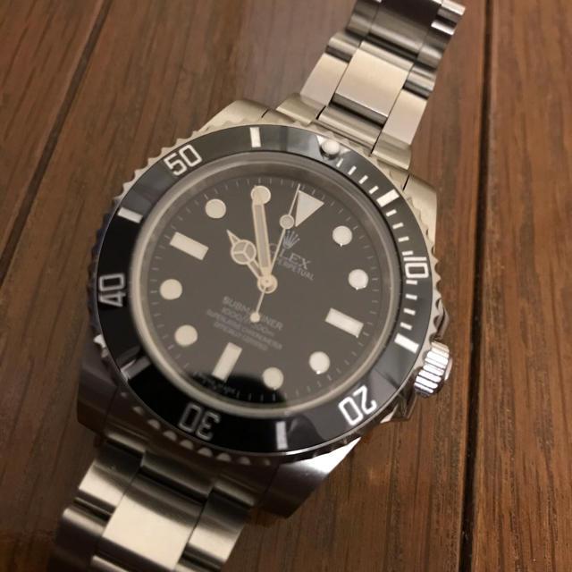 ROLEX サブマリーナタイプ 高品質 カスタム時計の通販