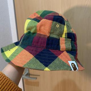 アベイシングエイプ(A BATHING APE)のBAPE キッズ 帽子 エイプ(帽子)