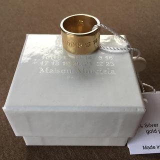 マルタンマルジェラ(Maison Martin Margiela)の新品47%off メゾンマルジェラ ナンバリング ロゴ リング メンズ 17AW(リング(指輪))