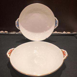 ミキモト(MIKIMOTO)のミキモト インターナショナル 真珠のブローチ図案 ペアフルーツボウル(食器)