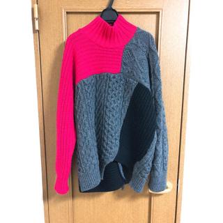 カラー(kolor)のkolor18awボリュームニットサイズ1(ニット/セーター)