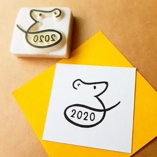ねずみ年*2020*年賀状(受注生産)