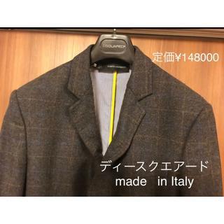 ディースクエアード(DSQUARED2)のディーディースクエアードのイタリア製テイラードジャケット(テーラードジャケット)