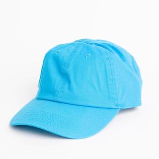 ウィゴー(WEGO)の【新品未使用】 LOWキャップ ターコイズ ブルー(キャップ)