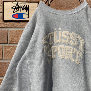チャンピオン(Champion)の【超激レア‼︎】90s チャンピオン ステューシー リバースウィーブ スウェット(スウェット)