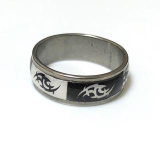 同時購入で300円 ステンレス指輪 モノトーン(リング(指輪))