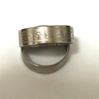 同時購入で300円 ステンレス指輪 ヨーロピアン彫(リング(指輪))
