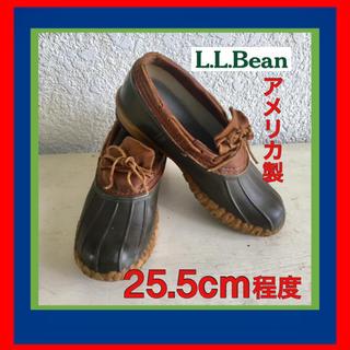 エルエルビーン(L.L.Bean)のL.L. Bean  ラバーモカシン(ブーツ)