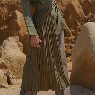 SELECT - selectmoca プリーツ巻きスカート