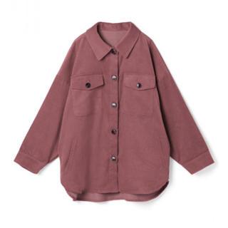 GRL - コーデュロイオーバーシャツ ピンク