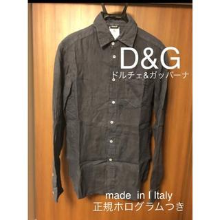 ドルチェアンドガッバーナ(DOLCE&GABBANA)のイタリア製 ドルチェ&ガッバーナ リネンシャツ(シャツ)