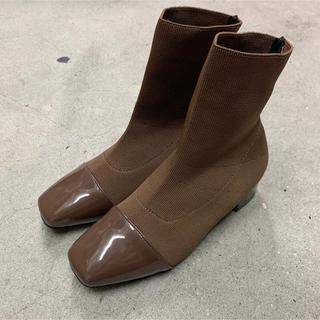 ニットブーツ(ブーツ)