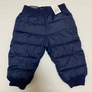 GAP - 新品 ベビーギャップ  キルティング パファー 防寒 パンツ 90 ズボン