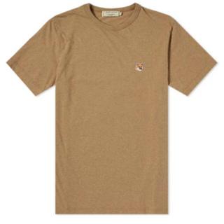 メゾンキツネ(MAISON KITSUNE')のメゾンキツネ Tシャツ フォックスヘッド パッチ (Tシャツ(半袖/袖なし))