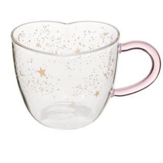 Starbucks Coffee - スタバ ホリデー 耐熱グラスマグハート