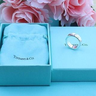 Tiffany & Co. - ☆新品☆未使用☆ティファニー 1837ロゴリング 15号