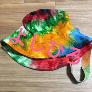 ピースマイナスワン(PEACEMINUSONE)のPEACEMINUSONE バケハ&ニット帽(ニット帽/ビーニー)