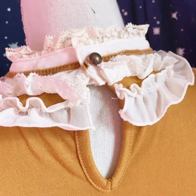 axes femme(アクシーズファム)のアクシーズファム 秋色 レーストップス レディースのトップス(シャツ/ブラウス(長袖/七分))の商品写真
