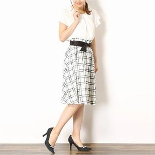 レッセパッセ(LAISSE PASSE)の【新品】LAISSE PASSE お嬢様♡ スカート ♡レッセ・パッセ(ひざ丈スカート)