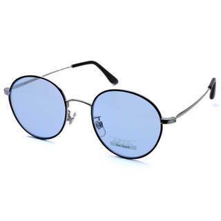 メタル サングラス / N / ブルーレンズ / メンズ・レディース兼用(サングラス/メガネ)