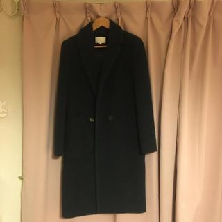 カルヴェン(CARVEN)のcarven カルヴェン コート 深緑 サイズ36(ロングコート)