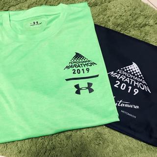 UNDER ARMOUR - 横浜マラソン2019参加者Tシャツ&キタムラバッグ