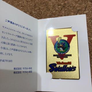 東京ヤクルトスワローズ - ヤクルトスワローズ 2年ぶり4回目の優勝記念