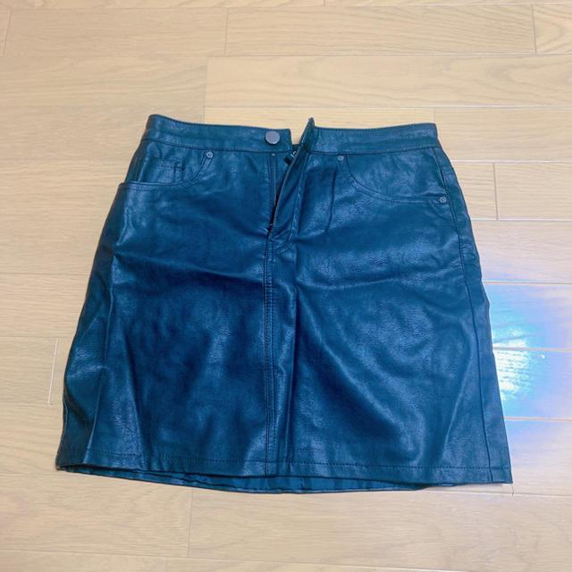 FOREVER 21(フォーエバートゥエンティーワン)のレザースカート レディースのスカート(ミニスカート)の商品写真
