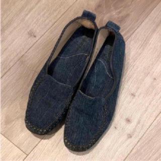 デニムシューズ(ローファー/革靴)
