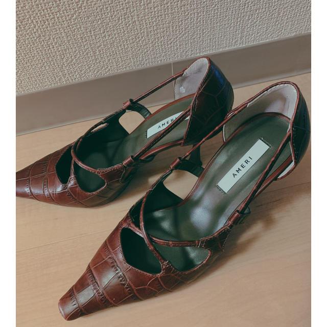 Ameri VINTAGE(アメリヴィンテージ)のAMERI  レディースの靴/シューズ(ハイヒール/パンプス)の商品写真
