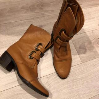 本革ブーツ(ブーツ)