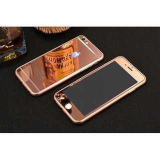 iPhone7Plus/8Plus ローズゴールド 全面保護 強化ガラス Qui