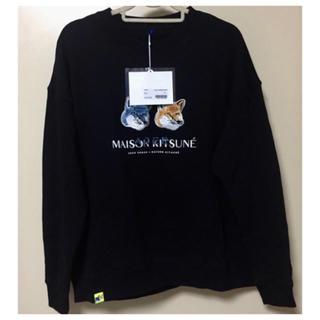 メゾンキツネ(MAISON KITSUNE')のmaison kitsune ブラック(スウェット)